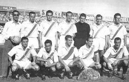 Una formazione del Catania 1952-53