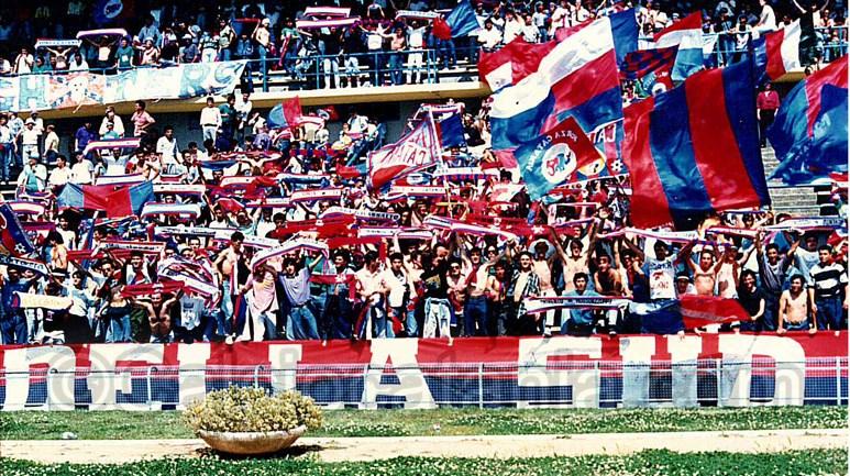 Gli ottomila tifosi rossazzurri presenti al